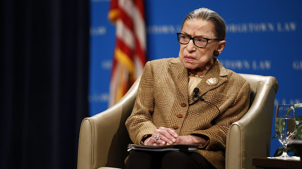 Ruth Bader Ginsburg, domare i USA:s högsta domstol