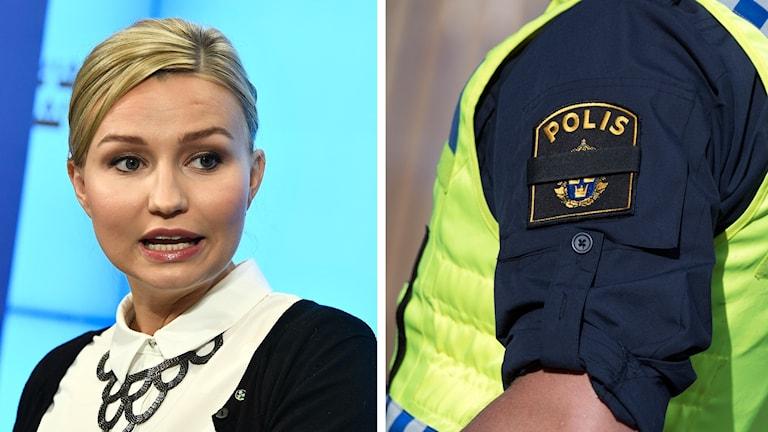 Ebba Busch Thor kd poliser löner