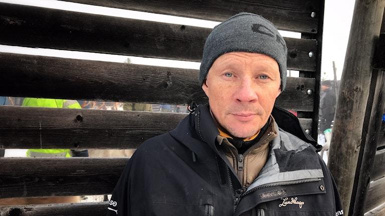 Nils-Anders Jonsson, Tåssåsens sameby. Här på renskiljning vid Nederhögen.