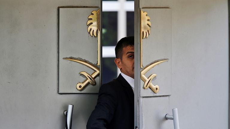 Försvunnen journalist, Jamal Khashoggi, konsulat