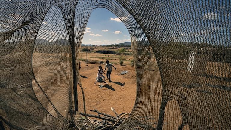 Hungern ökar i Sydafrika under coronapandemin