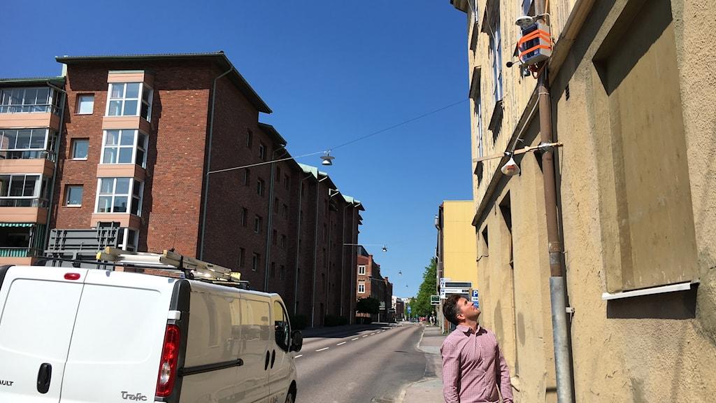 Fredrik Hallgren, projektledare på IVL