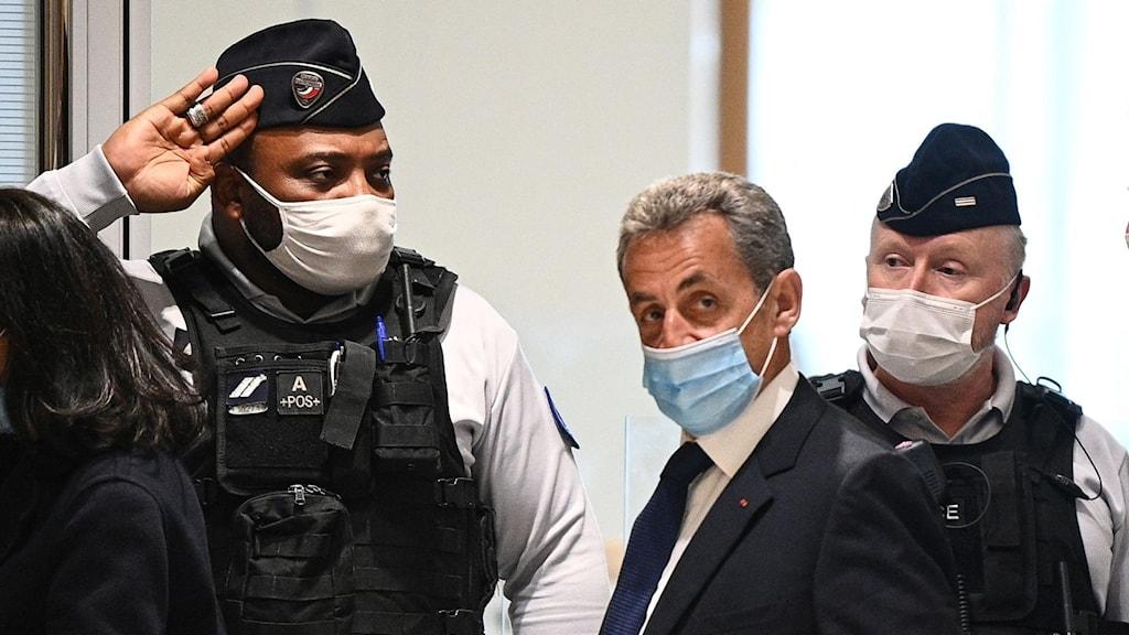 Sarkozy döms till fängelse