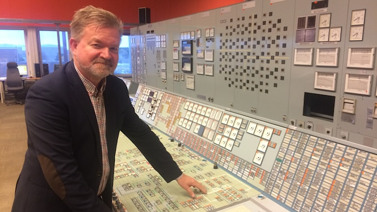 Torbjörn Larsson, pressansvarig för Uniper som äger Barsebäcksverket.