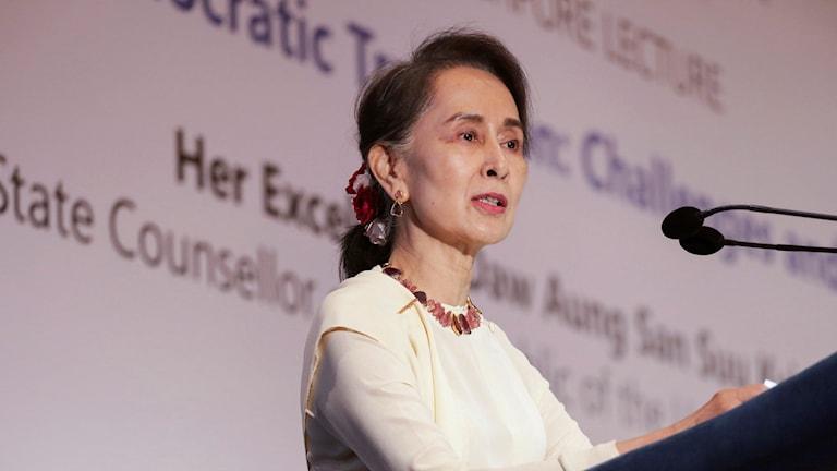Myanmar, Aung San Suu Kyi, FN