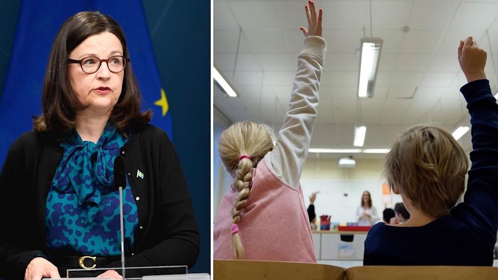 Utbildningsminister Anna Ekström.