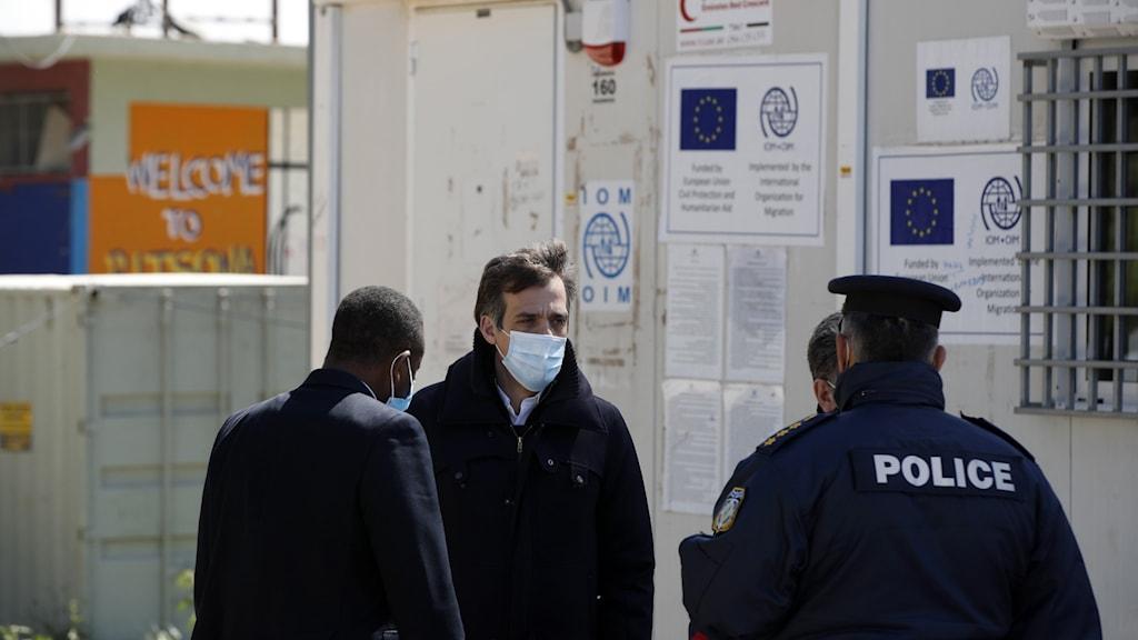 Flyktingläger Grekland