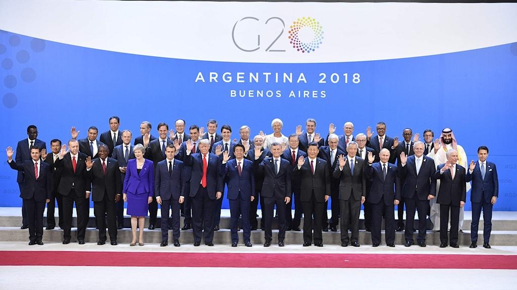 g20-gruppens ledare