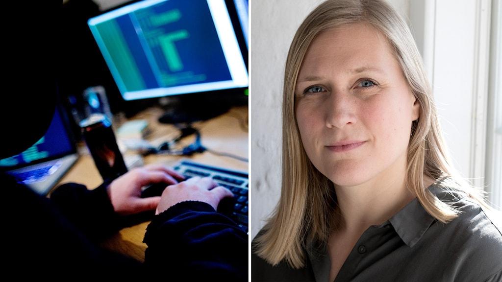 Eva Flyvholm, talesperson i försvarsfrågor för danska partiet Enhedslisten