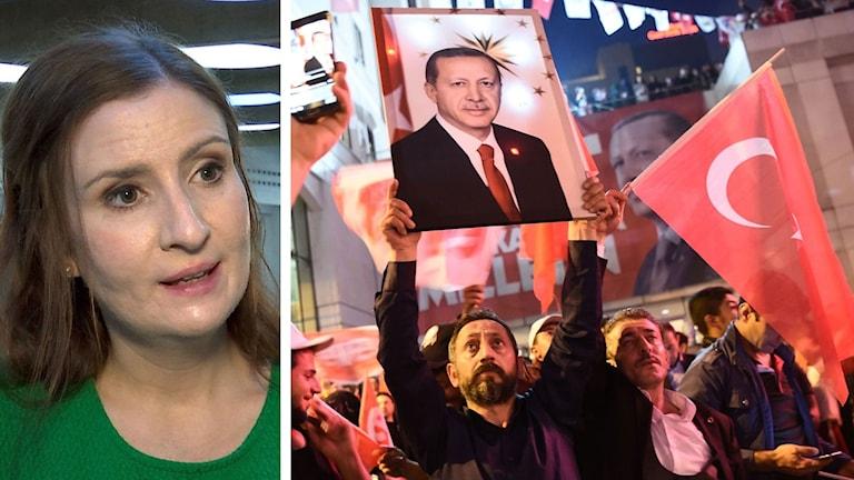 Birgitta Ohlsson kommenterar valet i Turkiet
