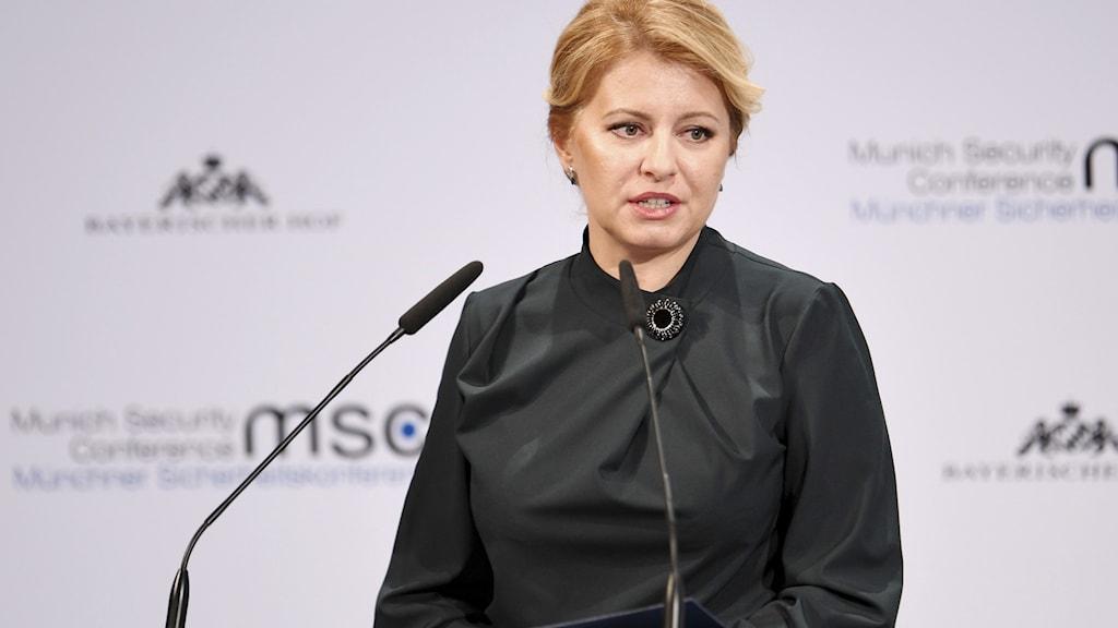 Slovakiens president Zuzana Caputova