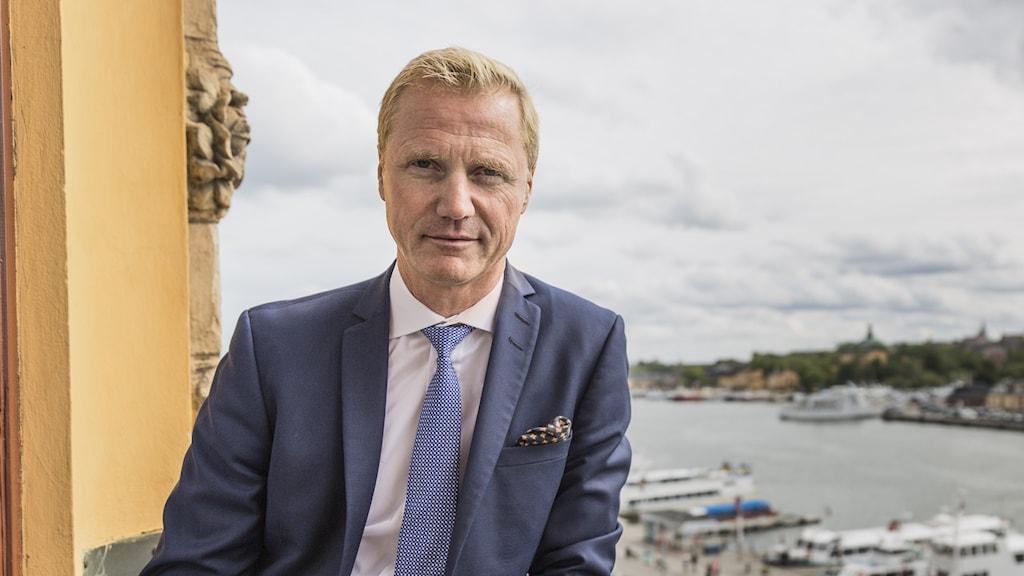 Henrik Sjölund, vd Holmen