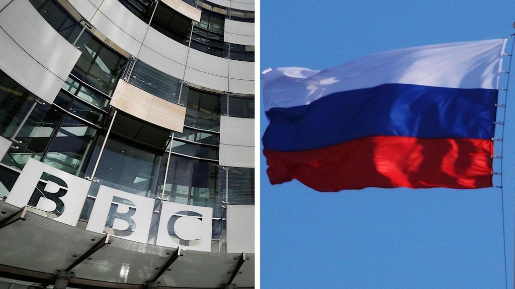 Särskilt ofta utsätts brittiska BBC som sprider felaktiga nyheter enligt Rysslands regering
