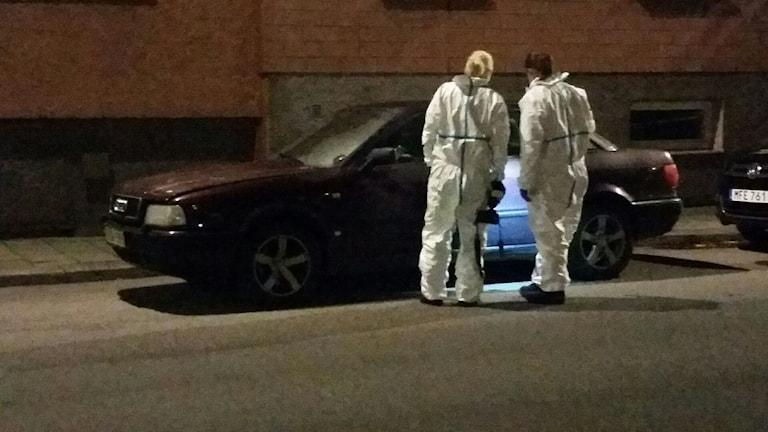 Avspärrningarna är hävda i Norrköping efter att ett misstänkt föremål under en bil har säkrats.