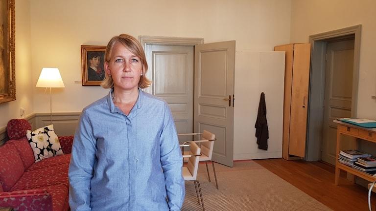 Statssekreterare hos Isabella Lövin, Ulrika Modéer.