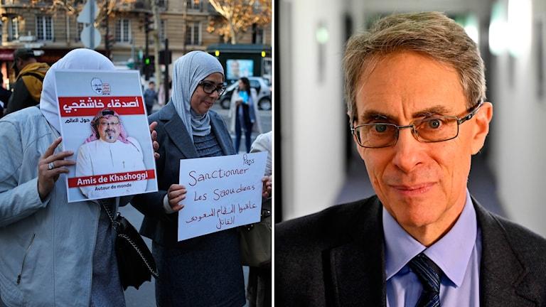 Protesterna efter mordet på journalisten Jamal Khashoggi är ett exempel på hur motståndet mot förtryck ökat, enligt Kenneth Roth, chef för Human Rights Watch.
