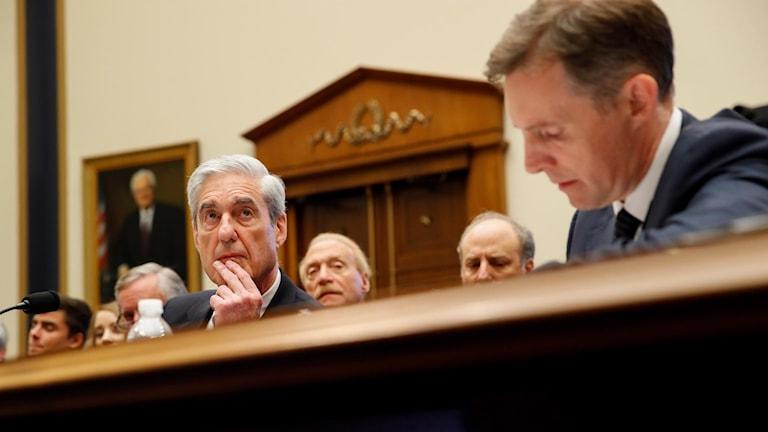 Robert Mueller i utfrågningen