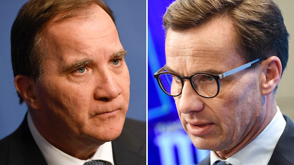 Stefan Löfven och Ulf Kristersson