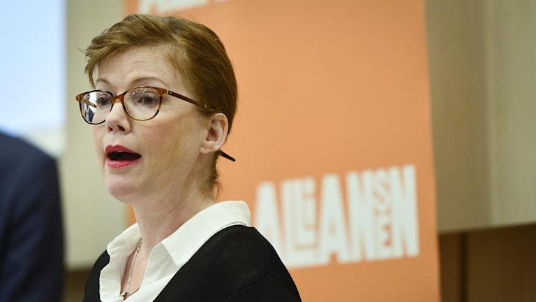 Anna Starbrink (L), hälso- och sjukvårdsregionråd i Stockholm.