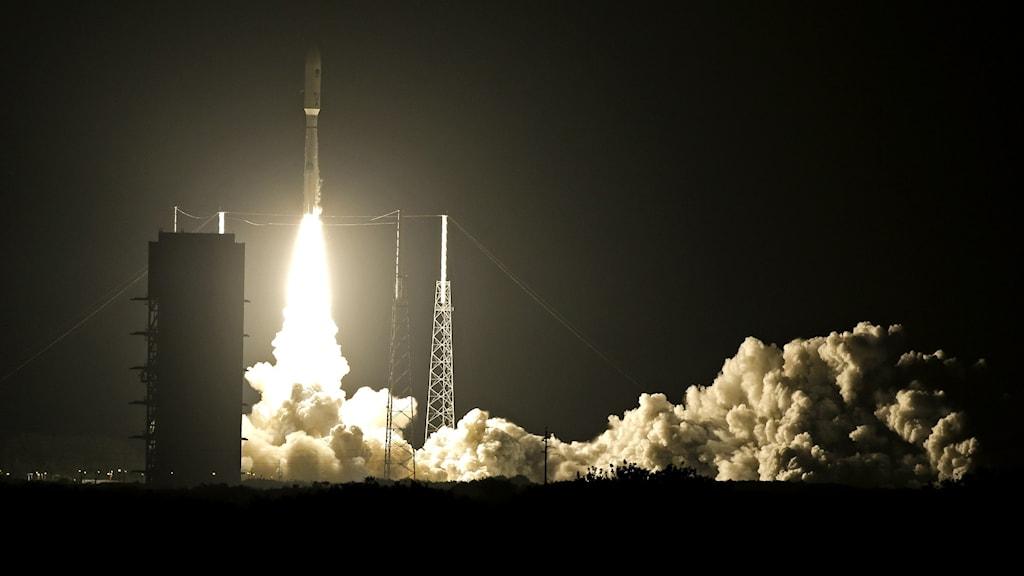 En raket skjuts upp fån Florida. Arkivbild.