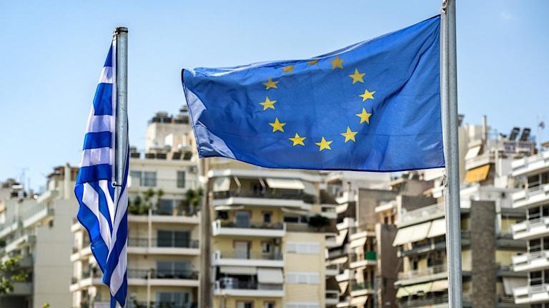 EU-FLAGGA I GREKLAND