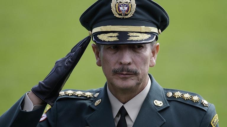 Nicacio Martínez fd befälhavare för militären i Colombia.
