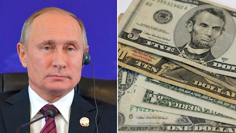 Vladimir Putin och pengar