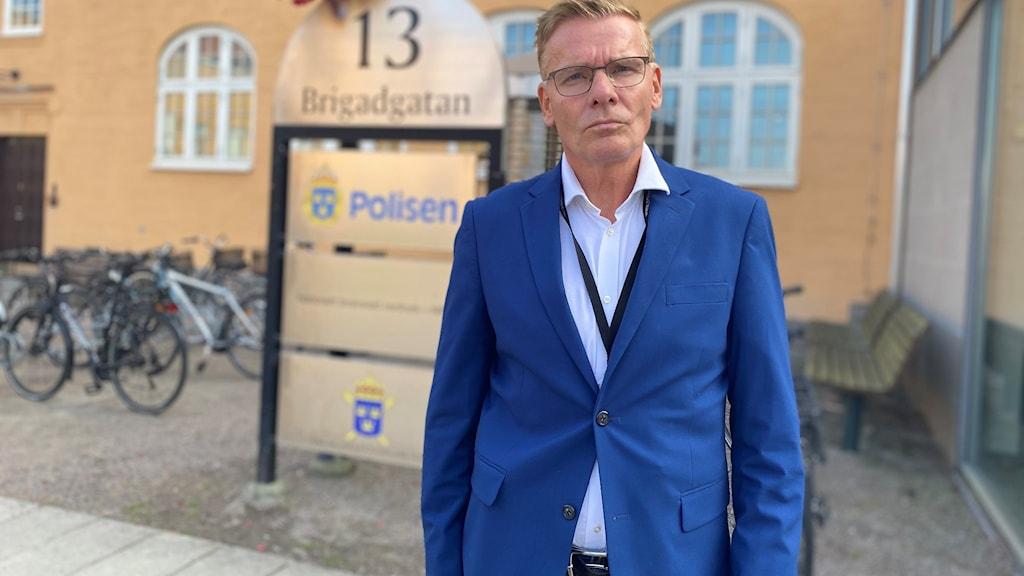 Kriminalkommissarie Jan Staaf