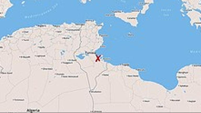 Migrantbåt har sjunkit utanför Tunisien
