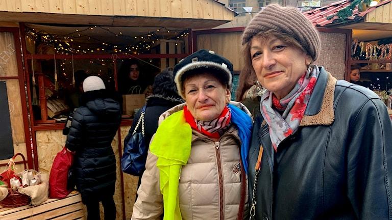 Laura och Karine Vartanyan
