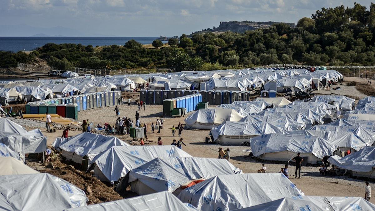 Antalet asylansökningar i Europa fortsätter att sjunka