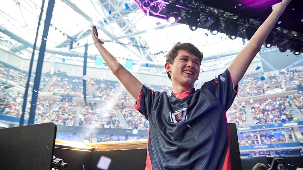 Vinnaren Kyle Giersdorf