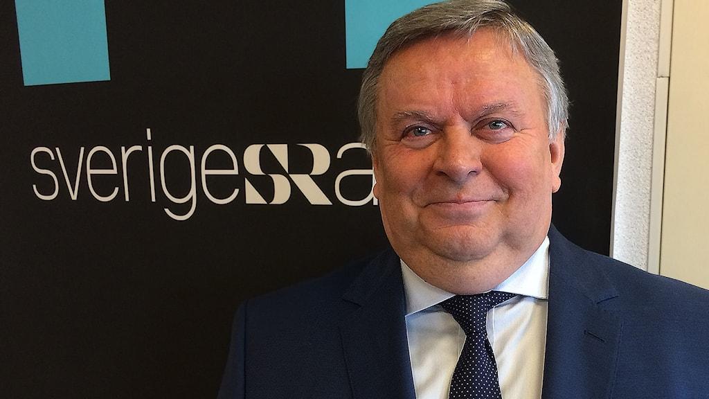 Viktor Tatarintsev, Rysslands ambassadör, medverkar i Ekots lördagsintervju