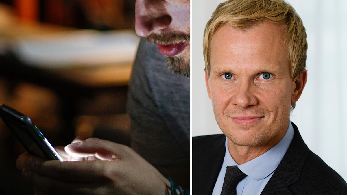 Christer Janson, presschef på Folkhälsomyndigheten.