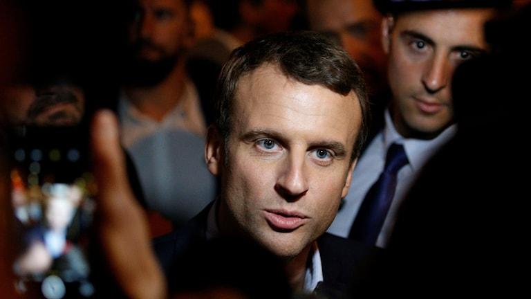 Emmanuel Macron efter valet