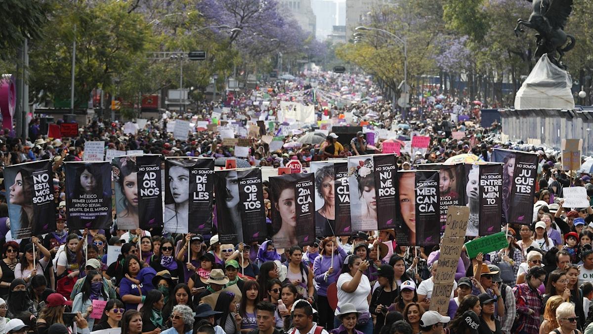 Kvinnostrejk i Mexiko