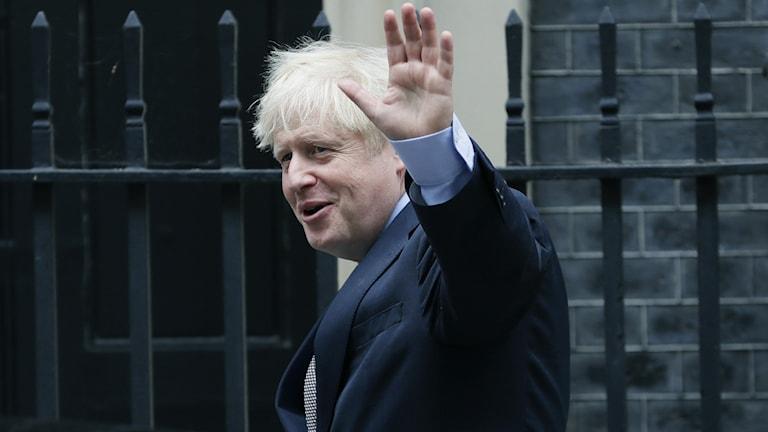 Storbritanniens premiärminister Boris Johnson.