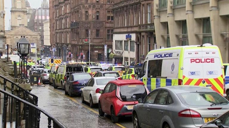 Britain Scotland Police Incident