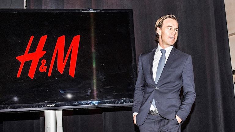 Karl-Johan Persson, H&M (arkivbild: på årsstämman tidigare i år). Foto: Tomas Oneborg/TT.