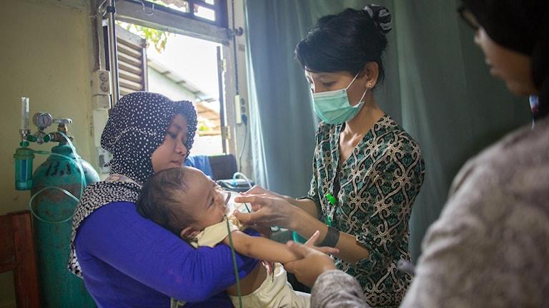 Barnadödligheten bland 65 000 bybor intill Gunung Palung har minskat med 70 % sedan sjukhuset byggdes.