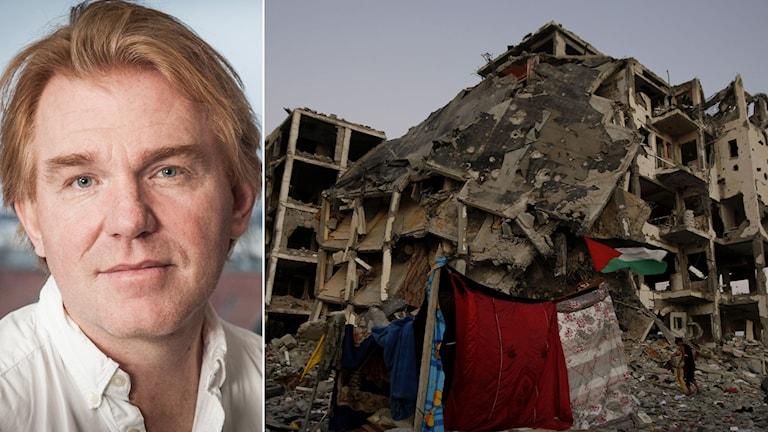 Ekots utsände Jesper Lindau i Gaza.