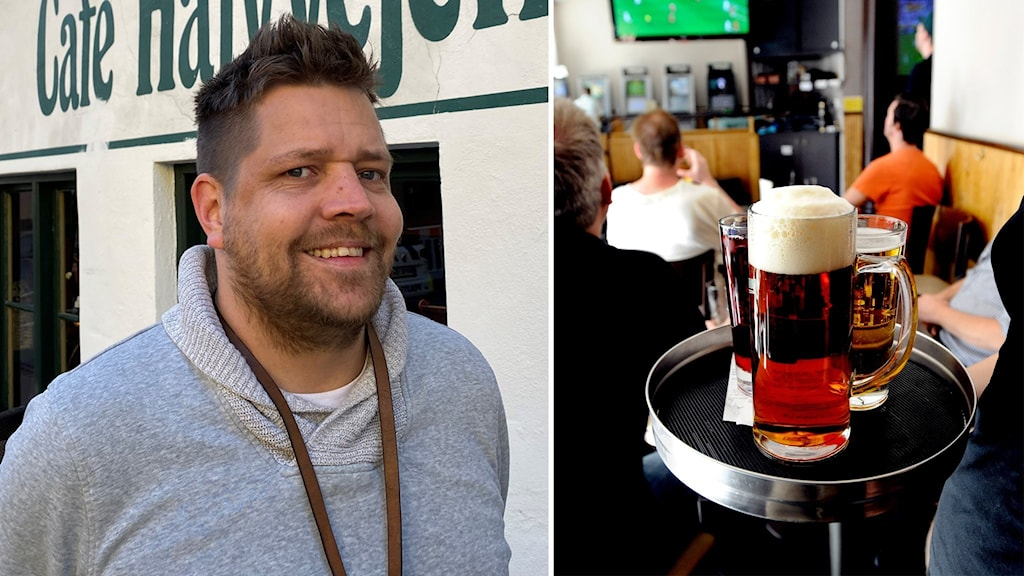 Krögaren Svenne Hellgren i Köpenhamn.