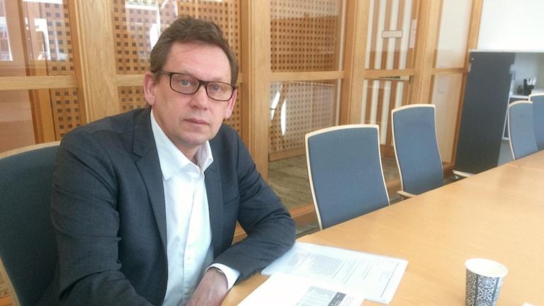 Thomas Falk, enhetschef på Försäkringskassan.