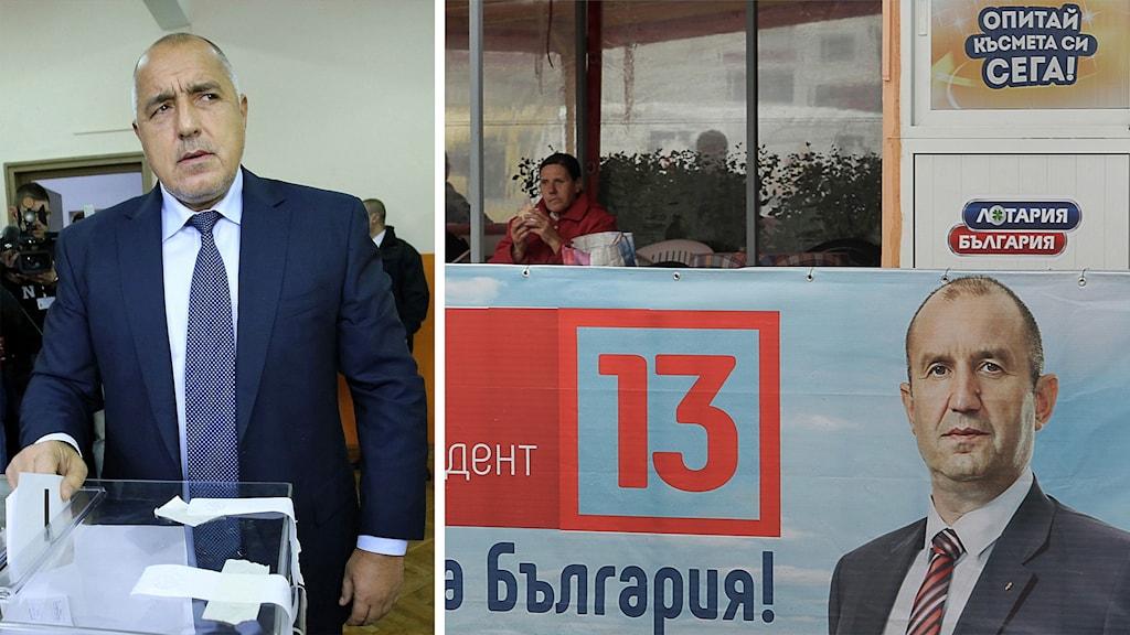 Bulgariens premiärminister Bojko Borisov avgår efter att socialispartiets Rumen Radev vunnit presidentvalet.