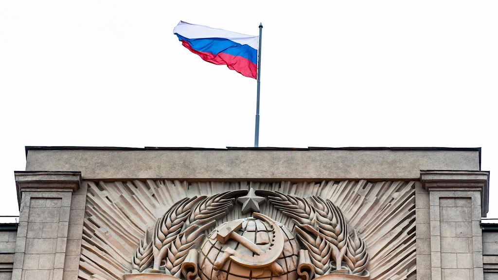 Rysk flagga.