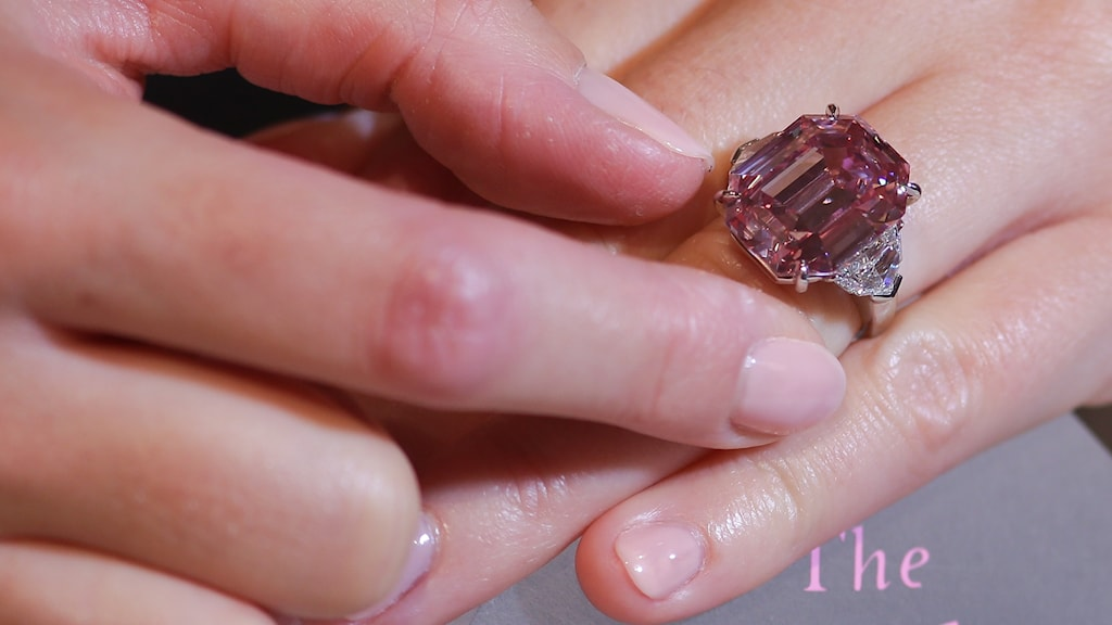 Diamanten Pink Legacy