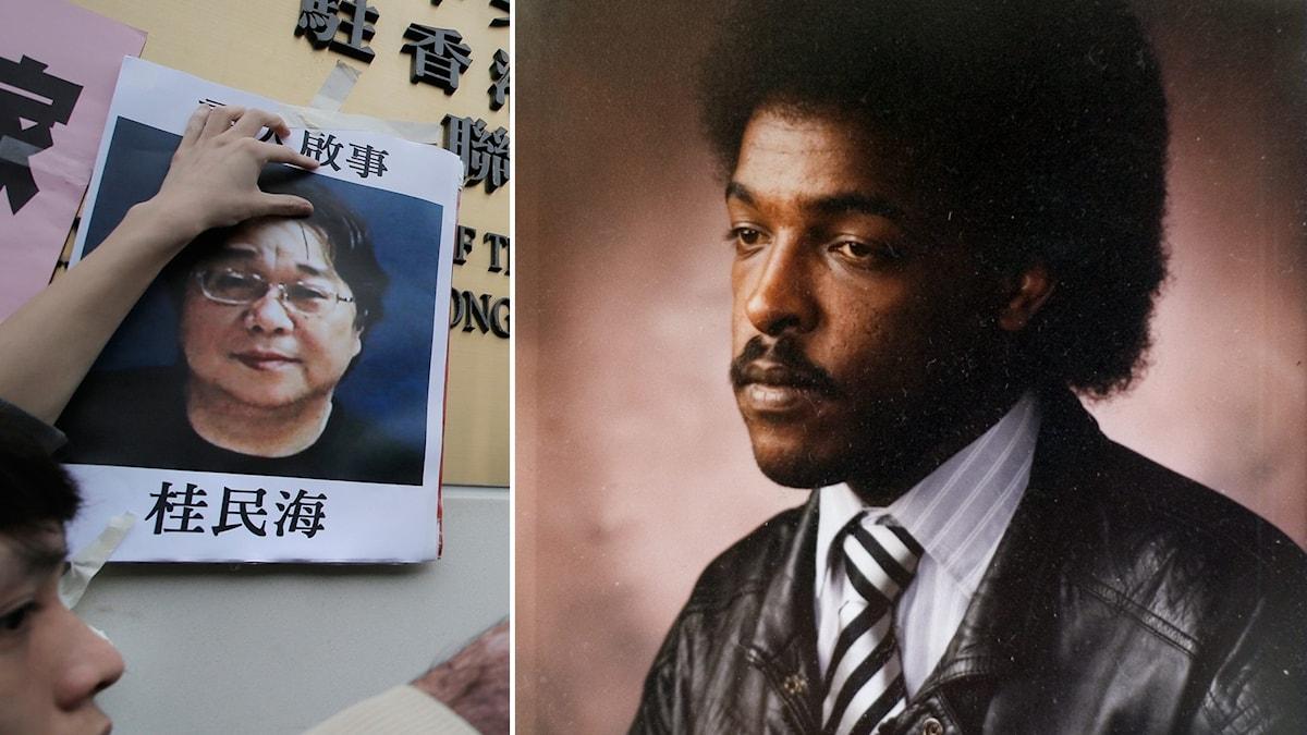 Gui Minhai och Dawit Isaak.