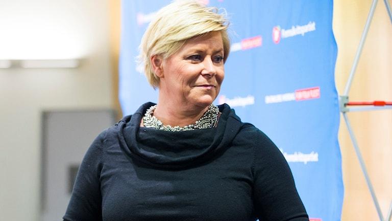 Siv Jensen, finansminister i Norge.