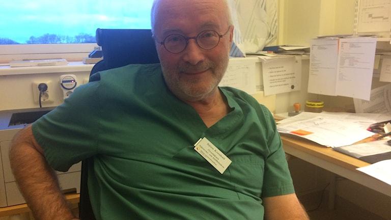 Överläkaren Björn Kornhall