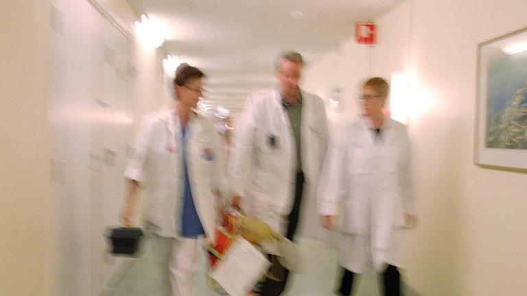 Läkare (arkivbild). Foto: Erik G Svensson/TT.